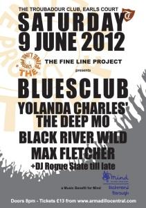 The Fine Line Project Troubadour Club Mind Benefit June 2012