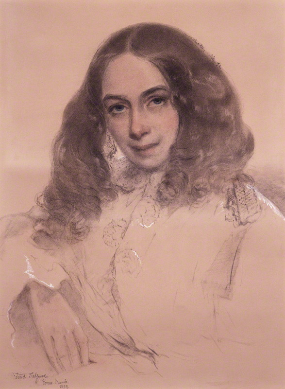 NPG 322; Elizabeth Barrett Browning by Field Talfourd