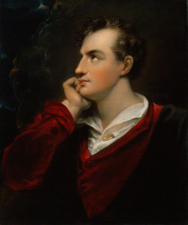 NPG 1047; George Gordon Byron, 6th Baron Byron after Richard Westall