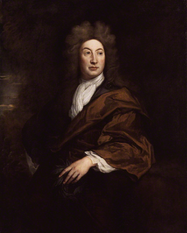 NPG 2083; John Dryden by Sir Godfrey Kneller, Bt