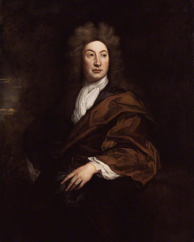 NPG 2083; John Dryden by Sir Godfrey Kneller, Bt
