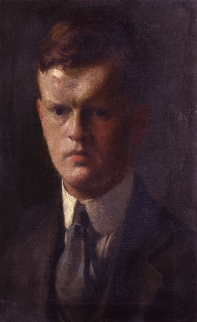 5218,Unknown man, formerly known as Evelyn Waugh,by Unknown artist