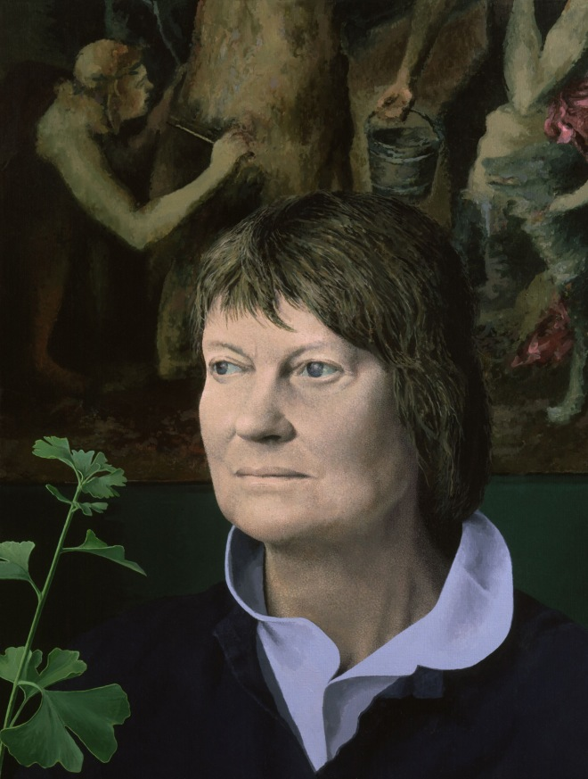 5921,Iris Murdoch,by Tom Phillips