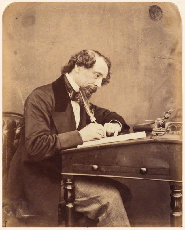 NPG P301(19); Charles Dickens by (George) Herbert Watkins