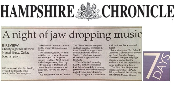 Hampshire Chronicle 7 Days Review