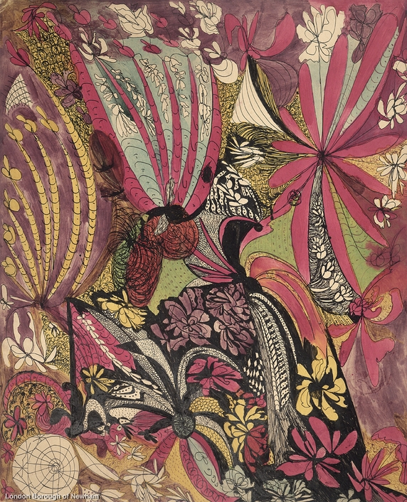 madge gill floral abstract_resize